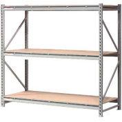 "Extra High Capacity Bulk Rack With Wood Decking 72""W x 36""D x 96""H Starter"