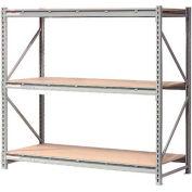 "Extra High Capacity Bulk Rack With Wood Decking 96""W x 24""D x 120""H Starter"