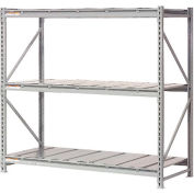 "Extra High Capacity Bulk Rack With Steel Decking 96""W x 24""D x 72""H Starter"