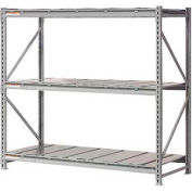 "Extra High Capacity Bulk Rack With Steel Decking 60""W x 24""D x 96""H Starter"