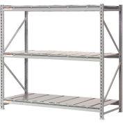 "Extra High Capacity Bulk Rack With Steel Decking 96""W x 24""D x 96""H Starter"