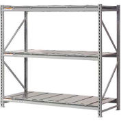 "Extra High Capacity Bulk Rack With Steel Decking 96""W x 48""D x 96""H Starter"