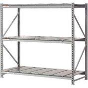 "Extra High Capacity Bulk Rack With Steel Decking 96""W x 24""D x 120""H Starter"