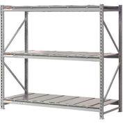 "Extra High Capacity Bulk Rack With Steel Decking 96""W x 48""D x 120""H Starter"