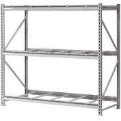 "Extra High Capacity Bulk Rack Without Decking 72""W x 48""D x 96""H Starter"