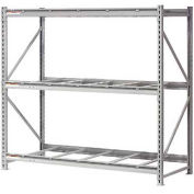 "Extra High Capacity Bulk Rack Without Decking 96""W x 24""D x 96""H Starter"