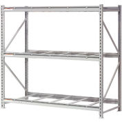 "Extra High Capacity Bulk Rack Without Decking 96""W x 36""D x 96""H Starter"
