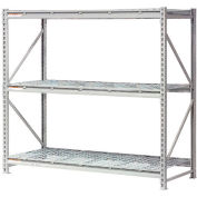"""Extra High Capacity Bulk Rack With Wire Decking 72""""W x 48""""D x 72""""H Starter"""