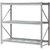 "Extra High Capacity Bulk Rack With Wire Decking 72""W x 24""D x 96""H Starter"