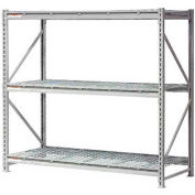 """Extra High Capacity Bulk Rack With Wire Decking 72""""W x 48""""D x 120""""H Starter"""