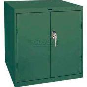 Sandusky Elite Series Desk Height Storage Cabinet EA11361830 - 36x18x30, Green