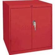 Sandusky Elite Series Desk Height Storage Cabinet EA11361830 - 36x18x30, Red