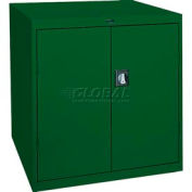 Sandusky Elite Series Counter Height Storage Cabinet EA2R361842 - 36x18x42, Green
