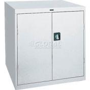 Sandusky Elite Series Counter Height Storage Cabinet EA2R361842 - 36x18x42, Gray
