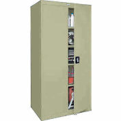 Sandusky Elite Series Storage Cabinet EA4R362472 - 36x24x72, Putty