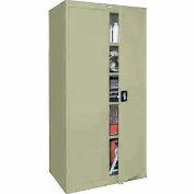 Sandusky Elite Series Storage Cabinet EA4R362478 - 36x24x78, Putty