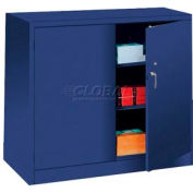 Lyon Storage Cabinet BB1043 Counter Height 36x18x42 - Blue