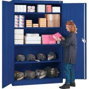 Lyon Storage Cabinet BB1081  - 36x18x78 - Blue