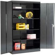 Lyon Storage Cabinet KK1031  - 48x24x78 - Black
