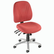 8-Way Adjustable Ergonomic Chair - Burgundy