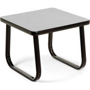 "OFM 20"" End Table with Sled Base, Gray"