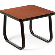 "OFM 20"" End Table with Sled Base, Mahogany"