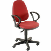 Burgundy Ergo Multifunctional Adjustment Chair