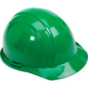 ERB™ 19768 Americana Hard Hat, 4-Point Pinlock Suspension, Green
