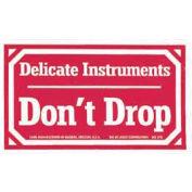 Delicate Instruments Don't Drop Labels 3x5