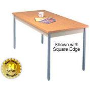 "Oak Activity Table - Radius Edge Top - 30""W X 60""L"