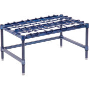 "Stationary Dunnage Rack 30""W x 18""D - Poly Z Brite"