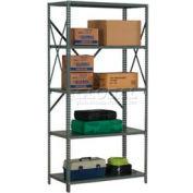 "Steel Shelving 18 Ga 36""Wx24""Dx73""H Open Clip Style 5 Shelf"