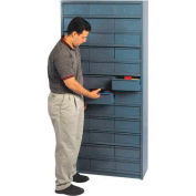 "18""D Metal Drawer Storage Cabinet with 48 Drawers"