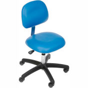 Clean Room Chair Pneumatic Height Adjustment