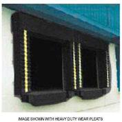 Chalfant Black Dock Door Seal Model 130 Heavy Duty 40 Ounce 8'W x 9'H