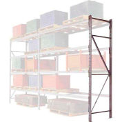 "Pallet Rack Upright Frame - 4"" Channel 48""D x 96""H"