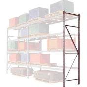 """Pallet Rack Upright Frame - 4"""" Channel 48""""D x 120""""H"""