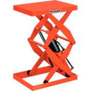 PrestoLifts™ Power Double Scissor Lift Table DXS30-5 Foot Control 500 Lb. Cap.