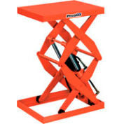 PrestoLifts™ Power Double Scissor Lift Table DXS30-10 Foot Control 1000 Lb
