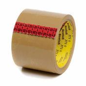 "3M Carton Sealing Tape 371 3"" x 55 Yds 1.9 Mil Tan  - Pkg Qty 24"