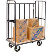 High End Wood Shelf Truck 48 x 24 2400 Lb. Capacity