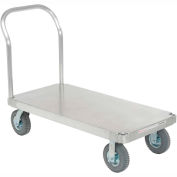 Magliner® Aluminum Platform Truck with Smooth Deck 48 x 24 1200 Lb. Cap.