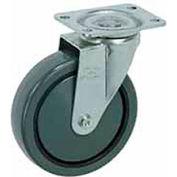 """Faultless Swivel Plate Caster 499-3 3"""" Polyurethane Wheel"""