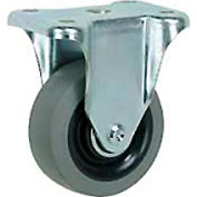 "Faultless Rigid Plate Caster 7793-4 4"" TPR Wheel"