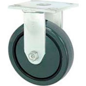 "Faultless Rigid Plate Caster 3498-4 4"" Polyurethane Wheel"