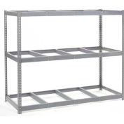"Wide Span Rack 96""W x 36""Dx 60""H With 3 Shelves No Deck 800 Lb Capacity Per Level"