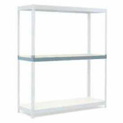 """Additional Level For Wide Span Rack 60""""W x 24""""D Wood Deck 1200 Lb Capacity"""