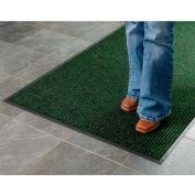 "Apache Mills Brush & Clean™ Entrance Mat 3/8"" Thick 3' x 5' Hunter Green"