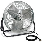 TPI 12 Inch Industrial Floor Fan 1/12 HP, 1-Phase, 120V