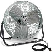 TPI F24TE,24 Inch Industrial Floor Fan 1/8 HP 2100 CFM